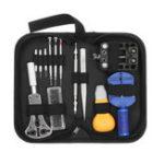 New 14Pcs Portable Watch Repair Tool Kit Case Opener Link Remover Spring Bar Tool Set