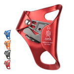 New XINDA Aluminum Alloy  Climbing Mountaineer Hand Grasp Climbing Ascender Descender Rappelling Belay for 8-13mm Rope