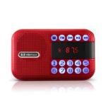 New Mini Portable Pocket Radio Speaker LCD Digital FM USB TF Card Music Player MP3