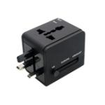 New YICHEN TR-148 Worldwide Universal Multi-functional Conversion Power Plug Converter Dual USB Travel Conversion Plug Standard EU US UK AU Plug Portable Travel Plug