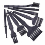 New 8Pcs BGA Repair Cleaning Brush Flux Paste PCB Repair Tools Kit Motherboard Anti Static Brush Mobile Phone Repair Tool