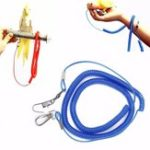 New Anti-bite Parrot Flying Training Rope Bird Lead Leash Kits Outdoor Flying Rope Jumping for Cockatiel