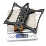 New ZJWRC KBAT136 136mm Wheelbase 3 Inch 3mm Arm Frame Kit for RC Drone FPV Racing 30.7g