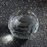 New Clear Crystals Ball K9 Cut Sphere Prisms Glass Ball Decor Crafts Gifts 25-80mm