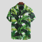 New Mens Summer Hawaiian Holiday Floral Printed Fashion Shirts