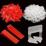 New 901pcs/set Tile Spacers Tiling Leveling System 700pcs Clips and 200pcs Wedges with 1pc Plier Floor Spacer
