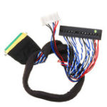 New 40P 2CH 6-bit LVDS Screen Universal LCD Driver Board Cable For LED Notebook Screen High Score