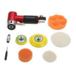 New Air Sander Polishing Machine Dual Action Random Orbital & Polishing Pads for Car Auto Body