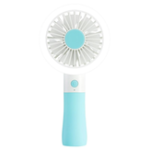 New Well Star D10-1 Portable Mini USB Fan LED light Fan Handheld Rechargeable Air Cooler Silent Cooling Fan For Home Office Student Dormitory Outdoors Travelling