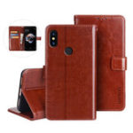New Bakeey Luxury Flip Magnetic Card Slot With Stand PU Leather Case Protective Case For Umidigi S3 Pro