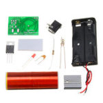 New 3pcs DIY Mini Tesla Coil Module Kit Magic Projects DIY Electronic Production With Battery Socket