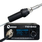 New Quicko T12-943 Mini OLED STM32 1.3inch Soldering Station Electronic Welding Iron DC Version Portable with 907 Handle + T12-K Solder Tip