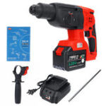 New 110-240V 3 In 1 Cordless Electric Brushless Hammer Drills Breaker Power Drills Electric Hammer Tool