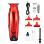New Kemei KM-5026 0mm Bald Rechargeable Hair Clipper Trimmer