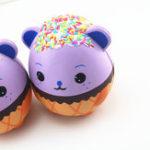 New New Squishy Purple Panda Egg 15CM Kawaii Animal Slow Rising Rebound Jumbo Cute Toys Gift Decor Collection
