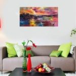 New 60*120cm Modern Hand-painted Oil Paintings Abstract Art Decor On Canvas Unframed