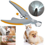New Durable Illuminated Nail Trimmer Cats Dogs Clippers Grinders Pet Care Tool