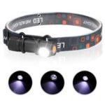 New XANES 2 In 1 Flashlight USB Charging 3 Modes Headlamp Camping Hunting Portable Work Light