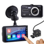 New 1080P Touch Screen Car DVR Camera Recorder Dual Lens Front and Rear HD Dash Cam