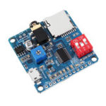 New DYSV5W 5V DC Voice Playback Module bluetooth Audio Receiver Board with SD/TF Card Wireless Stereo MP3 Music Module