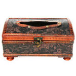 New Retro Vintage Wooden Tissue Box Rectangular Paper Cover Case Napkin Holder Gift Kitchen Storage Rack