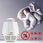 New REMAX RT-MK02 USB Suction Electronic Bug Insect Mosquito Killer Trap LED Lamp Night Light