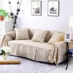 New Sofa Cover Couch Slipcover Cotton Blend 1-4 Seater Pet Dog Seat Covers Protector