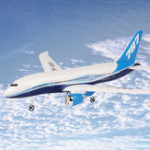 New QF008-Boeing 787 550mm Wingspan 2.4GHz 3CH EPP RC Airplane Fixed Wing RTF Scale Aeromodelling