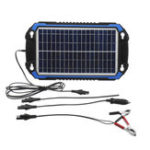 New 18V 6W/8W Portable Solar Panel Power Car Battery Charger For Car Boat Charging