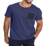 New Men's Nondeformable Soft Quick-Dry Short Sleeve T-Shirts Causal Working Sports T-Shirts