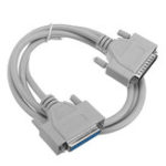 New 3pcs 25Pin DB25 Parallel Male To Female LPT Printer DB25 M-F Cable Serial Connector Cable 1.5M Computer Cable Printer Extending Cable