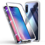 New Bakeey 360° Magnetic Adsorption Metal Tempered Glass Flip Protective Case for Xiaomi Mi 9 SE