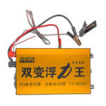 New 58000V AC Ultrasonic Inverter Head Electro Fisher Shocker Stunner Voltage Booster 12V Battery Regulator