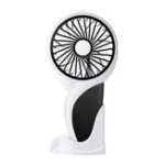 New Well Star WT-N10 Handheld Mini USB Woodpecker Fan with Base LED Light Lamp Fan Rechargeable Air Cooler Silent Cooling Fan For Home Office Student Dormitory Outdoors Travelling