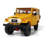 New WPL C34 1/16 Kit 4WD 2.4G Buggy Crawler Off Road RC Car 2CH Toy Metal Edition