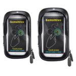New 5.8/6.0inch Waterproof Motorcycle Motorbike Scooter Bicycle Mobile Phone Holder Bag Case