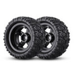 New Remo P6973 Rubber RC Car Tires For 1621 1625 1631 1635 1651 1655 RC Vehicle Models