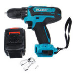 New 26V Electric Cordless Drill Power Drills 25+3 Stage Lithium Battery Drilling Tools With 1/2 Battery