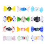 New 12Pcs Vintage Murano Glass Sweets Candy Christmas Decorations Kids Ornament