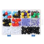 New 463Pcs Chemistry Bats Type Molecular Model Kit and Organic Chemistry Atom Bonds Medical