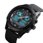 New SKMEI 1514 Outdoor Sports 5ATM Luminous Men Digital Watch