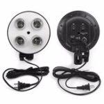 New 4 Socket E27 Video Shooting Light Lamp Bulb Head Holder
