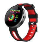 New Bakeey DM78Plus Steel Bezel Heart Rate Menstrual Cycle Message Call Reminder Alarm Smart Watch
