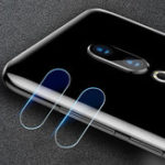New 2 PCS Camera Lens Protector Soft Tempered Glass Rear Camera Lens for Meizu 16 / Meizu 16th