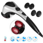New Handheld Dual Head Body Percussion Massager