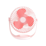 New Well Star WT-F12 Portable Mini USB Fan Air Cooling Fan 360º Rotating Fan Chargable Air Cooler Silent Cooling Fans With USB Cable For Home Office Student Dormitory Outdoors