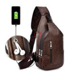 New Men Resistant Anti Theft Chest Bag Travel Daypack