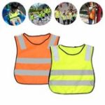 New Child Safety Yellow Vest Reflective Reflector Clothing High Visibility