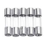 New 3pcs Glass Cartridge Fuse Tube Box 5*20mm 0.5A~20A 250V Fast Fusing Mixed