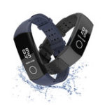 New Mijobs Silicone Wrist Strap Waterproof Watch Band for Huawei Honor Band 4 Smart Watch